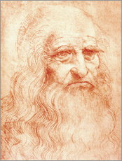 Leonardo da Vinci - Selbstbildnis Leonardo Da Vinci
