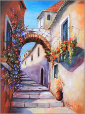 Marita Zacharias - Mediterrane Bilder - Gasse