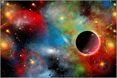 Mark Stevenson - Artist's concept illustrating our beautiful cosmic universe.