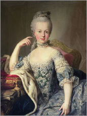 Martin II Mytens - Erzherzogin Marie Antoinette Habsburg-Lotharingen