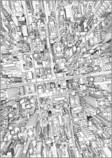  Maruto - futurstic city wireframe 4