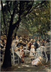 Max Liebermann - Mnchner Biergarten. 1883/84