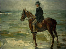 Max Liebermann - Reiter am Meer nach links