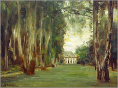 Max Liebermann - Wannseegarten mit Villa