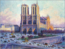 Maximilien Luce - Notre Dame, Paris, View from the Quai Saint-Michel, 1901-04