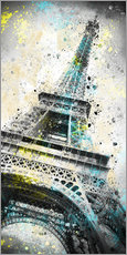 Melanie Viola - City Art PARIS Eiffelturm IV
