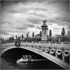 Melanie Viola - Pont Alexandre III PARIS mit Schiff