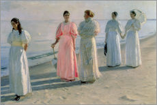 Michael Peter Ancher - Strandspaziergang