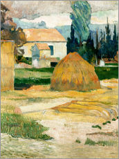 Paul Gauguin - Bauernhaus in Arles
