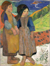 Paul Gauguin - Bretonische kleine Mdchen