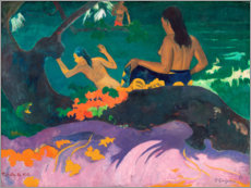 Paul Gauguin - Fatata te miti (Angelehnt ans Meer). 1892