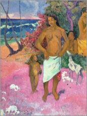 Paul Gauguin - Spaziergang am Meer