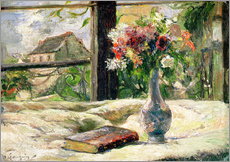 Paul Gauguin - Vase mit Blumen