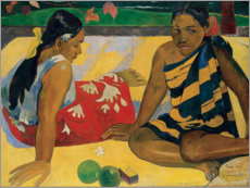 Paul Gauguin - Zwei Frauen auf Tahiti