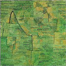 Paul Klee - Entlegene Landschaft