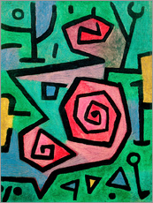 Paul Klee - heldenmutige Rosen 