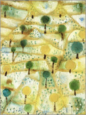 Paul Klee - Kleine rhythmische Landschaft