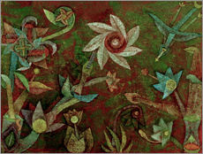 Paul Klee - Kreuz- und Spiralbl�ten