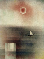Paul Klee - Ruhige See bei Z...
