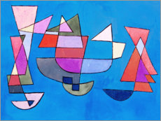 Paul Klee - Sailing Boats