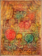 Paul Klee - spiralfrmige Blumen 