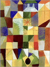 Paul Klee - Stdtische Komposition