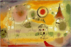 Paul Klee - Wintertag kurz vor Mittag