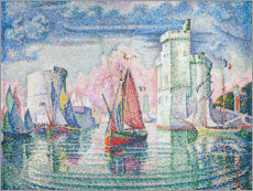 Paul Signac - The Port at La Rochelle