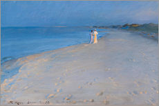 Peder Severin Kroyer - Sommerabend am South Beach