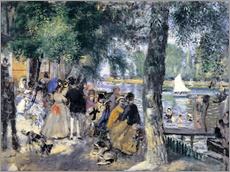 Pierre-Auguste Renoir - Badende in der Seine
