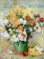 Pierre-Auguste Renoir - Chrysanthemenstrau