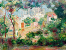 Pierre-Auguste Renoir - Grten von Montmartre