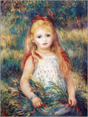 Pierre-Auguste Renoir - Mdchen im Garten