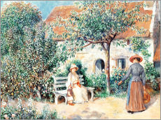 Pierre-Auguste Renoir - Scene du jardin