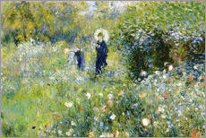 Pierre-Auguste Renoir - Sommerlandschaft