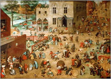 Pieter Brueghel d.�. - Children's Games