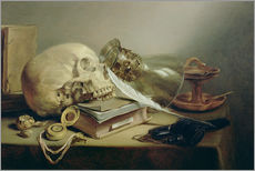 Pieter Claesz - Ein Vanitas-Stillleben