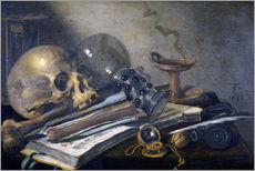 Pieter Claesz - Vanitas-Stilleben. 1656