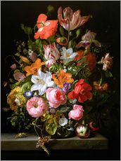 Rachel Ruysch - Still life of roses