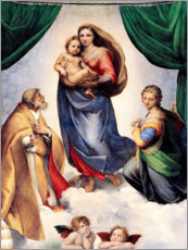 Raffaello Sanzio (Raffael) - Sixtinische Madonna
