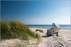 Reiner W�rz - Beach with dunes and beach grass
