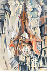 Robert Delaunay - Der Eiffelturm
