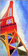 Robert Delaunay - La Tour Eiffel