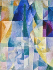 Robert Delaunay - Les fentres simultanes (2e motif, 1re partie)
