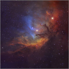 Robert Gendler - The Tulip Nebula (Sh2-101) in Cygnus.