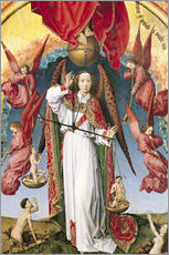 Rogier van der Weyden - St. Michael Wiegen der Seelen