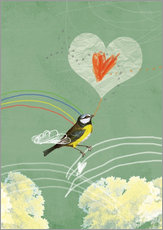 Sabrina Alles Deins - valentines vogel 2