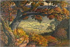 Samuel Palmer - The Weald of Kent