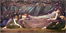 Edward Burne-Jones - Die schlafende Sch�ne