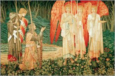 Edward Burne-Jones - Erlangung des Grals
